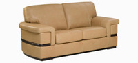 Jaymar Pedro Loveseat is available in high quality leather, fabric, or microfiber.