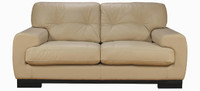 Jaymar Porto Loveseat is available in high quality leather, fabric, or microfiber.