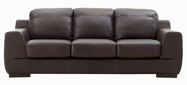 Jaymar Studio Sofa is available in high quality leather, fabric, or microfiber.