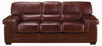 Jaymar Theo Sofa is available in high quality leather, fabric, or microfiber.