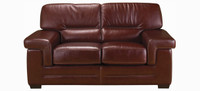 Jaymar Theo Loveseat is available in high quality leather, fabric, or microfiber.