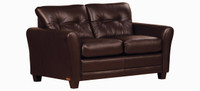 Jaymar New York Loveseat is available in high quality leather, fabric, or microfiber.