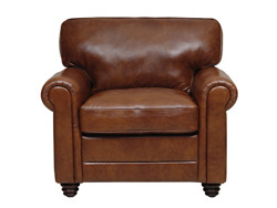 Luke Leather Andrew Chair
