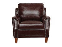 Luke Leather Austin Chair