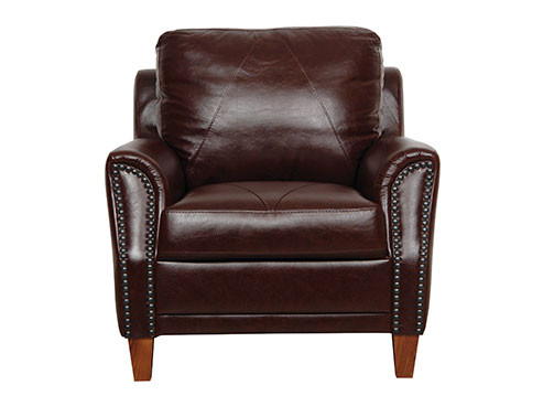 Direct Furniture Center Luke Leather Austin Chair