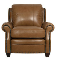 Luke Leather Bennett Chair