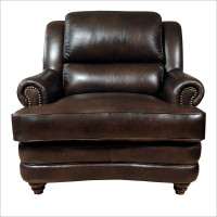 Luke Leather Bentley Chair