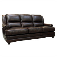 Luke Leather Bentley Sofa