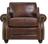 Luke Leather Levi Chair