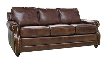 Direct Furniture Center Luke Leather Levi Sofa