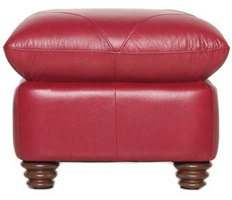 Luke Leather Weston Ottoman