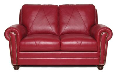 Luke Leather Weston Loveseat