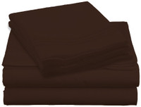 Design Center West Sheets That Breathe - Brown, King
