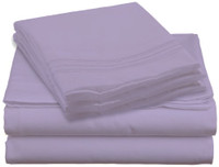 Design Center West Sheets That Breathe - Light Purple is available in King, Queen, Full, and Twin sizes!
