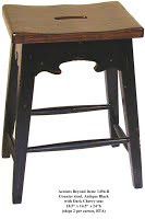 Accents Beyond   Pair of stools   1494-B