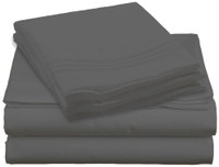Design Center West Sheets That Breathe - Grey available in King, Queen, Twin, and Full sizes!
