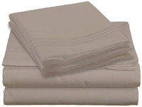 Design Center West Sheets That Breathe - Beige, King, Queen, Full, and Twin sizes available.