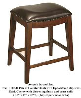 Accents Beyond | Pair of stools | 1605-D