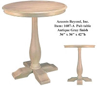 Accents Beyond | Pub Table | 1607-A