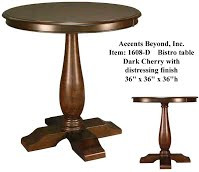 Accents Beyond | Bistro Table | 1608-D