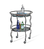 Johnston Casuals Salsa Serving Cart