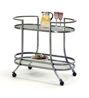 Johnston Casuals Furniture Delta Serving Cart