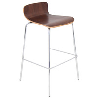 Lumisource | Woodstacker Barstool - Set of 2 | BS