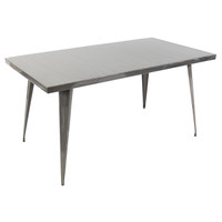 Lumisource | Austin Dining Table | DT-TW-AU6032 SV
