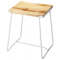 Butler Specialty Furniture | Parrish Wood & Metal Stool  | Bs4272288