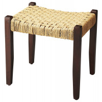 Butler Specialty Furniture | Garner Woven Jute Stool  | Bs4269140