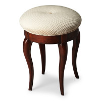 Butler Specialty Furniture | Simone Plantation Cherry Vanity Stool | Bs2135024