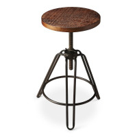 Butler Specialty Furniture | Trenton Iron Revolving Bar Stool | Bs2050025