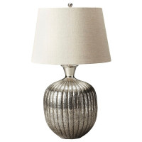 Butler Specialty Furniture    Antique Nickel Table Lamp   Bs7120116
