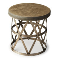 Butler Specialty Furniture | Dobson Industrial Chic Side Table | Bs2543025