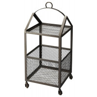 Butler Specialty Furniture | Trammel Industrial Chic Chairside Table | Bs2880330