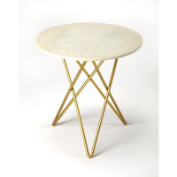 Butler Specialty Furniture | Quantum White Marble Bunching Table | Bs3775389