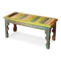 Butler Specialty Furniture | Rao Painted Wood Bench | Bs1882290