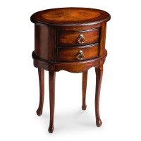 Butler Specialty Furniture | Whitley Plantation Cherry Oval Side Table | Bs1589024
