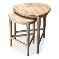 Butler Specialty Furniture | Finnegan Driftwood Nesting Tables | Bs7010247