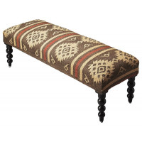 Butler Specialty Furniture | Navajo Jute Upholstered Bench | Bs4288999