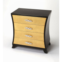 Butler Specialty Furniture | Saverio Ostrich Leather Drawer Chest | Bs6224350