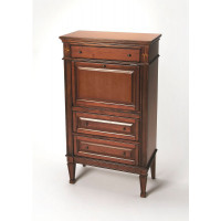 Butler Specialty Furniture | Wordsworth Olive Ash Burl Secretary | Bs2126101