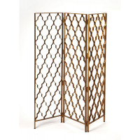 Butler Specialty Furniture | Vala Antique Gold Screen | Bs9210226