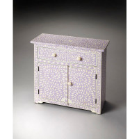Butler Specialty Furniture | Vivienne Lavender Bone Inlay Console Chest | Bs3203070