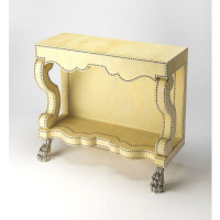 Butler Specialty Furniture | Bonino Cosmopolitan Leather Console Table | Bs6156350