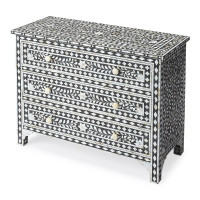 Butler Specialty Furniture | Victoria Mother Of Pearl Drawer Chest | Bs3559318