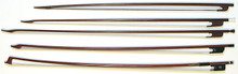 Baroque Bows (large variety of types) available at Don Rickert Musician Shop ( D. Rickert Musical Instruments )