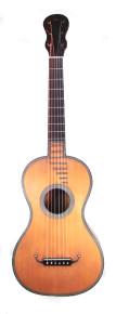 Luthier-Built Replica of a 1820s Lacote Guitar