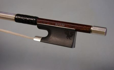 Revelle Woody Violin Bow (carbon fiber with REAL wood skin) 1