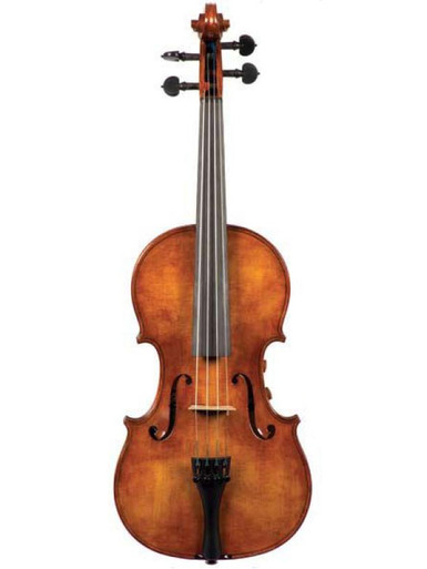 The Realist Model RV4Pe Professional 4-String Amplified Acoustic (Acoustic-Electric) Violin (front)